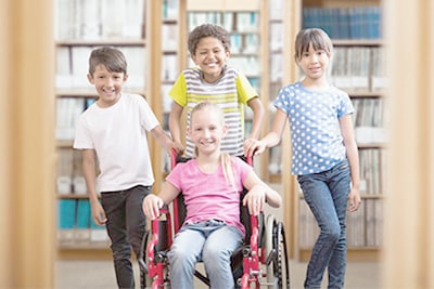 inclusion handicap enfants