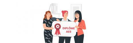nos dernières diplômées de la formation AES Assisteal