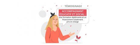 temoignage formation accompagnant educatif social